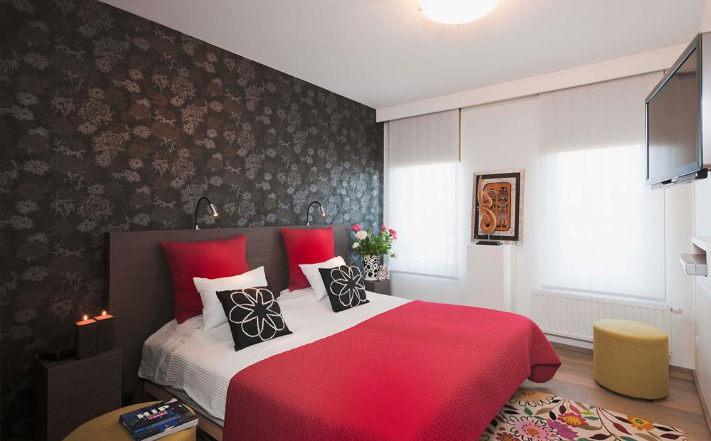Retro Slaapkamer Ideeen.Behangpapier In Een Modern Interieur Kantoormeubilair Net